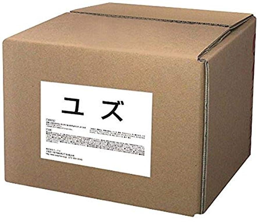 コミットレッドデート和らげる浴用入浴料 業務用 15KG ユズ