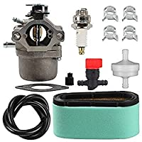 Harbot 799728 Carburetor + 496894S 496894 493909 Air Filter +272403S 272403 Pre Filter Fuel Line Filter for Briggs Stratton 498027 498231 499161 494502 494392 495706 496592 498231 Carb [並行輸入品]