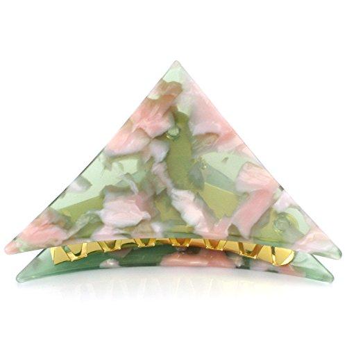 (ニノン) ninon 三角クリップ ヘアクリップ Mサイズ ベビーピンク