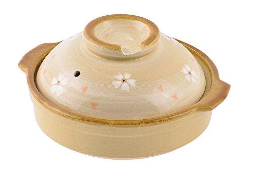 パール金属 よせ鍋17cm 小花 L-1794