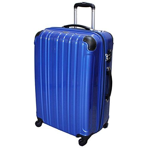 (シェルポッド) shellpod スーツケース HZ-500 中型 MSサイズ 鏡面ブルー【MS/BL】
