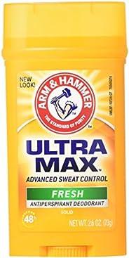 Arm & Hammer Ultra Max Fresh Scent Solid Antiperspirant Deodorant 2.6 oz (Pack o