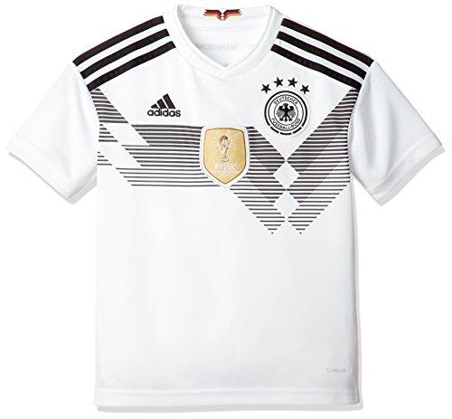 (アディダス) adidas サッカー ドイツ代表 ホームレプリカユニフォーム半袖 DTJ72 [ボーイズ] DTJ72 BQ8460 ホワイト/ブラック (BQ8460) 160