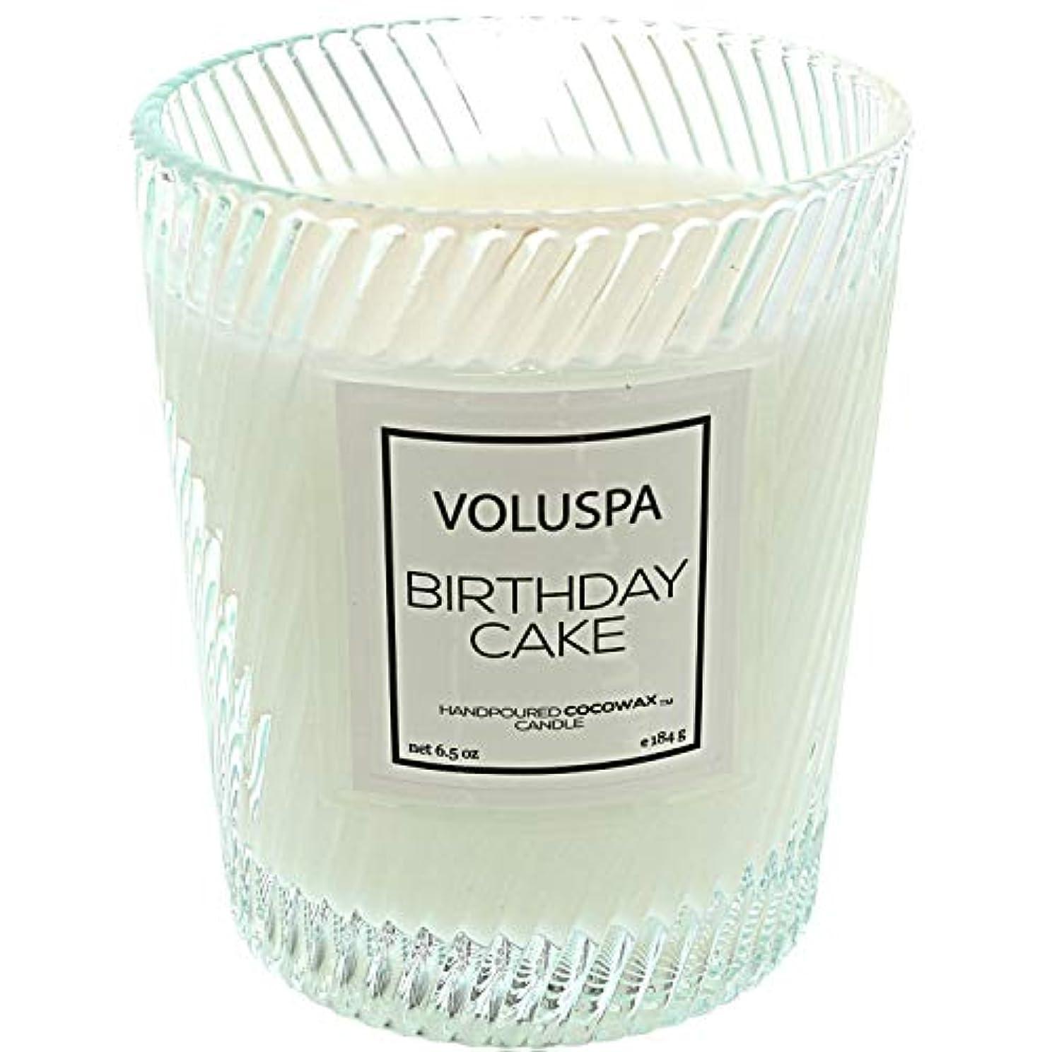 マーガレットミッチェル腰怒っているVOLUSPA マカロン クラシックグラスキャンドル バースデーケーキ 184g