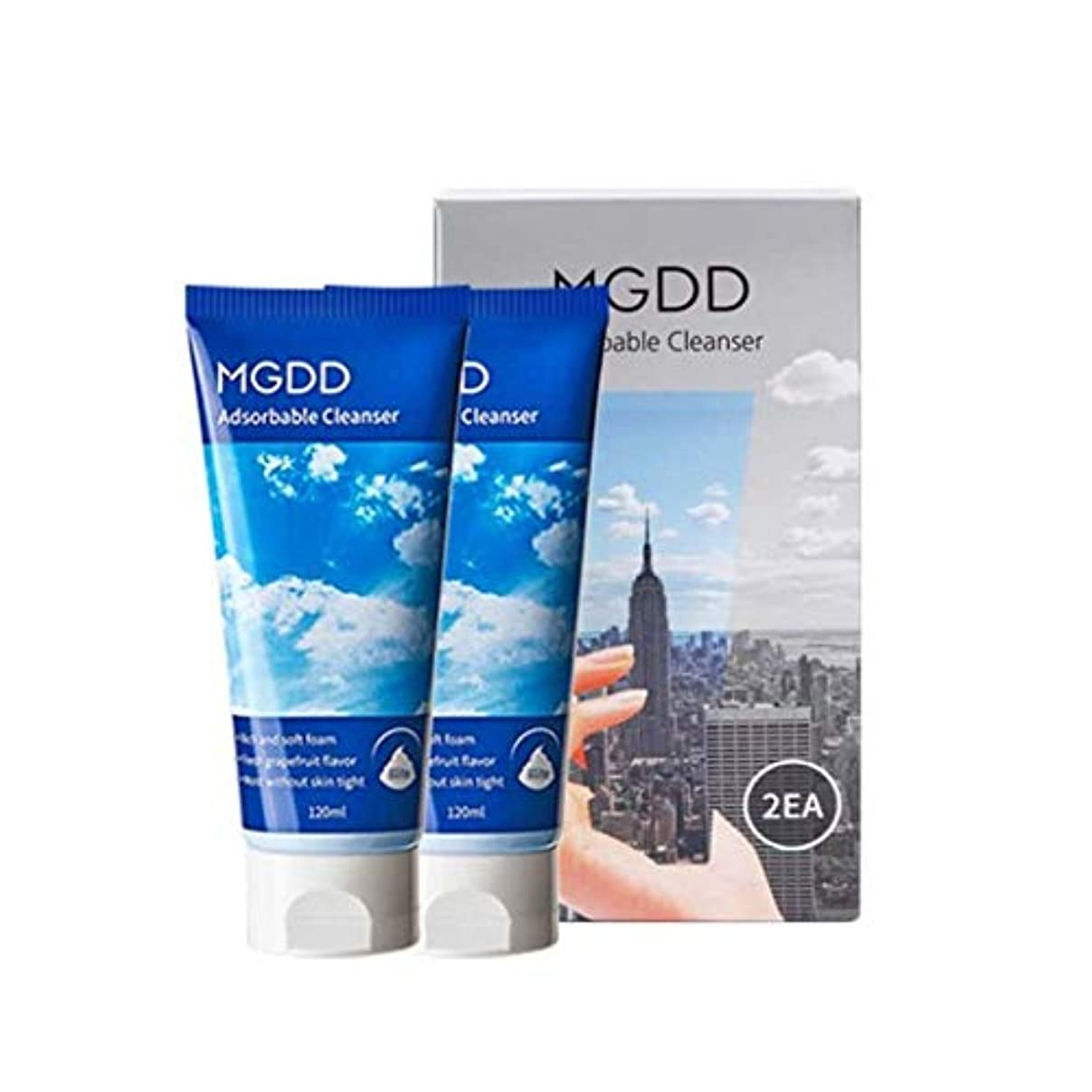 MGDD吸着クレンザー120mlx2本セット毛穴洗浄韓国コスメ、MGDD Adsorbable Cleanser 120ml x 2ea Set Pore Care Korean Cosmetics [並行輸入品]