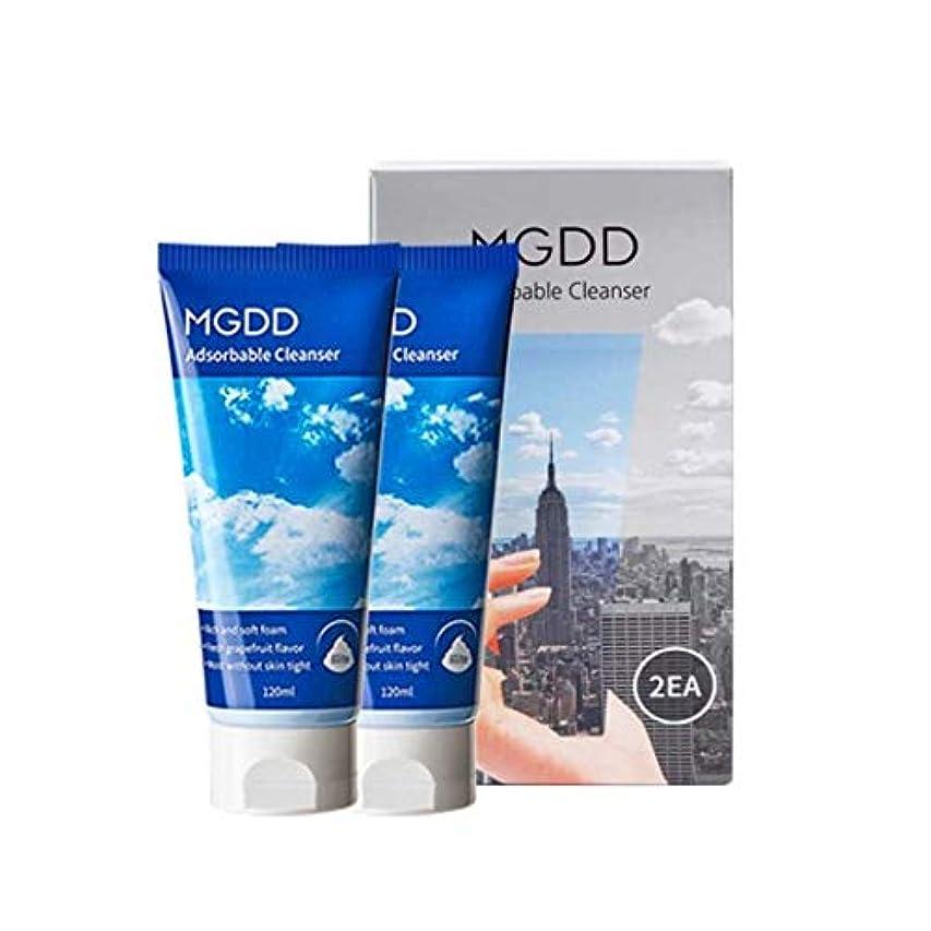 困難フロンティア引き潮MGDD吸着クレンザー120mlx2本セット毛穴洗浄韓国コスメ、MGDD Adsorbable Cleanser 120ml x 2ea Set Pore Care Korean Cosmetics [並行輸入品]