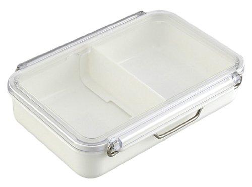 RoomClip商品情報 - 岩崎 お弁当箱 パワーラインキーパー 3号 650ml ホワイト B-2303