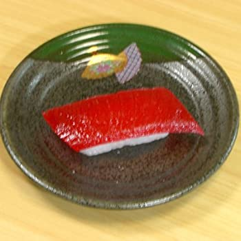 食品サンプル キーホルダー すし(まぐろ)
