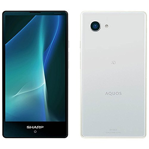 シャープ AQUOS mini ホワイト 「SH-M03」 Android 6.0・4.7型・メモリ/ストレージ:3GB/16GB・nanoSIMx1 SIMフリースマートフォン