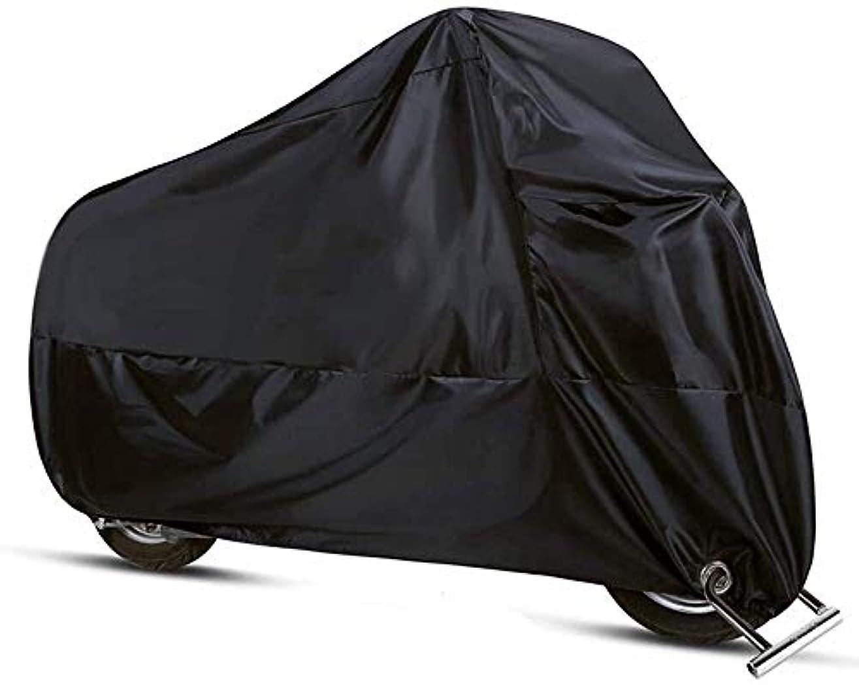 株式予防接種粘り強い3自転車防水サイクル保護UV雨雪証明タープ用自転車カバーバイク用耐オールウェザーダスト(ブラック) (Color : Black, Size : L245*W105*H125cm)
