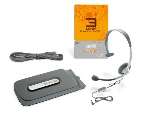 Xbox 360 ハードディスク 60GB  LIVEパック
