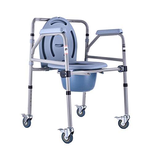 高齢者は、椅子のモバイルトイレ妊娠中の女性のトイレスチールチ...
