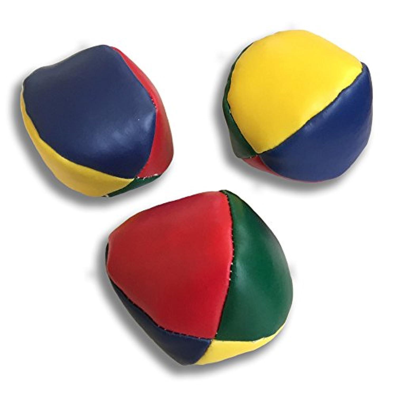 gee's 極めろ ジャグリング ボール 3個セット持ち運び可能な収納袋付 4色 小 約5cm
