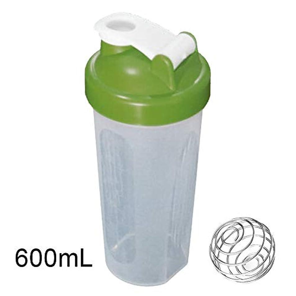 マーキングコーラス民兵Tuonar 400 / 600ml蛋白質の粉の混合のコップは感動的な球が付いている漏出防止の振動ボトルを密封しました