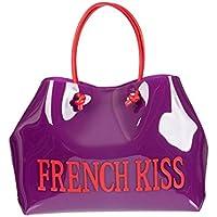 Alberta Ferretti Women's J700182130236 Purple Pvc Tote