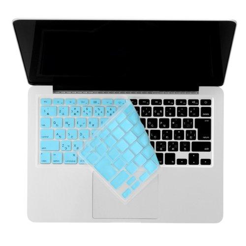 Bluevision キーボードカバー Typist 2012 for MacBook Pro 13/15 Retinaディスプレイモデル-JIS Blue ブルー BV-TYPST12-MBP-R-BL