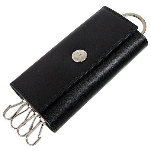 ETTINGER エッティンガー キーケース ロイヤルコレクション メンズ ST 840AJR BLACK ブラック×パープル 【並行輸入品】
