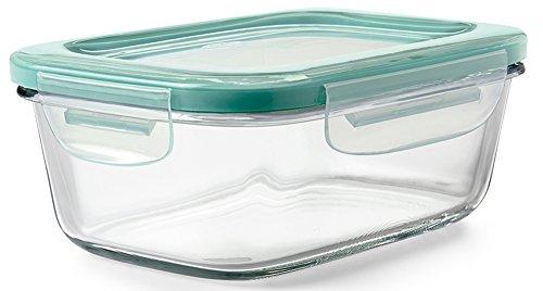 OXO 密閉保存容器 ガラスコンテナ 0.8L レクタングルL 11174100
