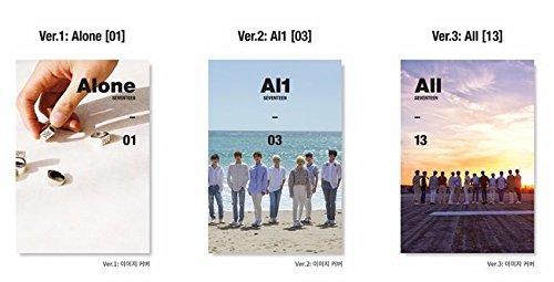 【早期購入特典あり 3枚セット】 SEVENTEEN Al1 4th Mini Album (初回ポスター3枚)( 韓国盤 )(初回限定特典7点)(韓メディアSHOP限定)