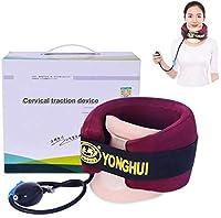 頸部牽引装置、首の不快感を持つ人々のためのホームカラーネックブレースサポート(ユニセックス)