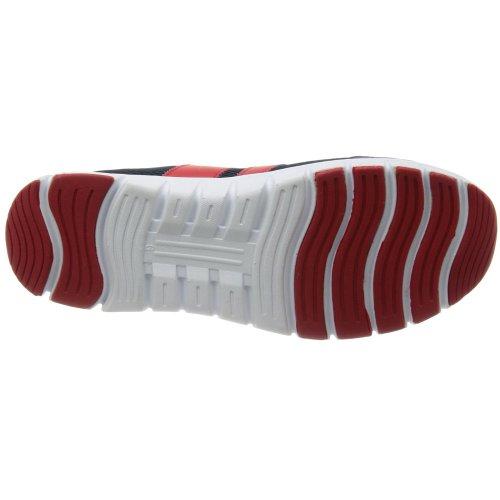 サンダンス 安全靴 SL-250 (ネイビー&レッド) (25.5)