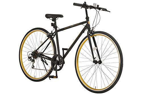 阪神タイガース×GP(ジーピー) クロスバイク 自転車 700c シマノ7段変速 フロントライト標準装備 GPHT001 50334