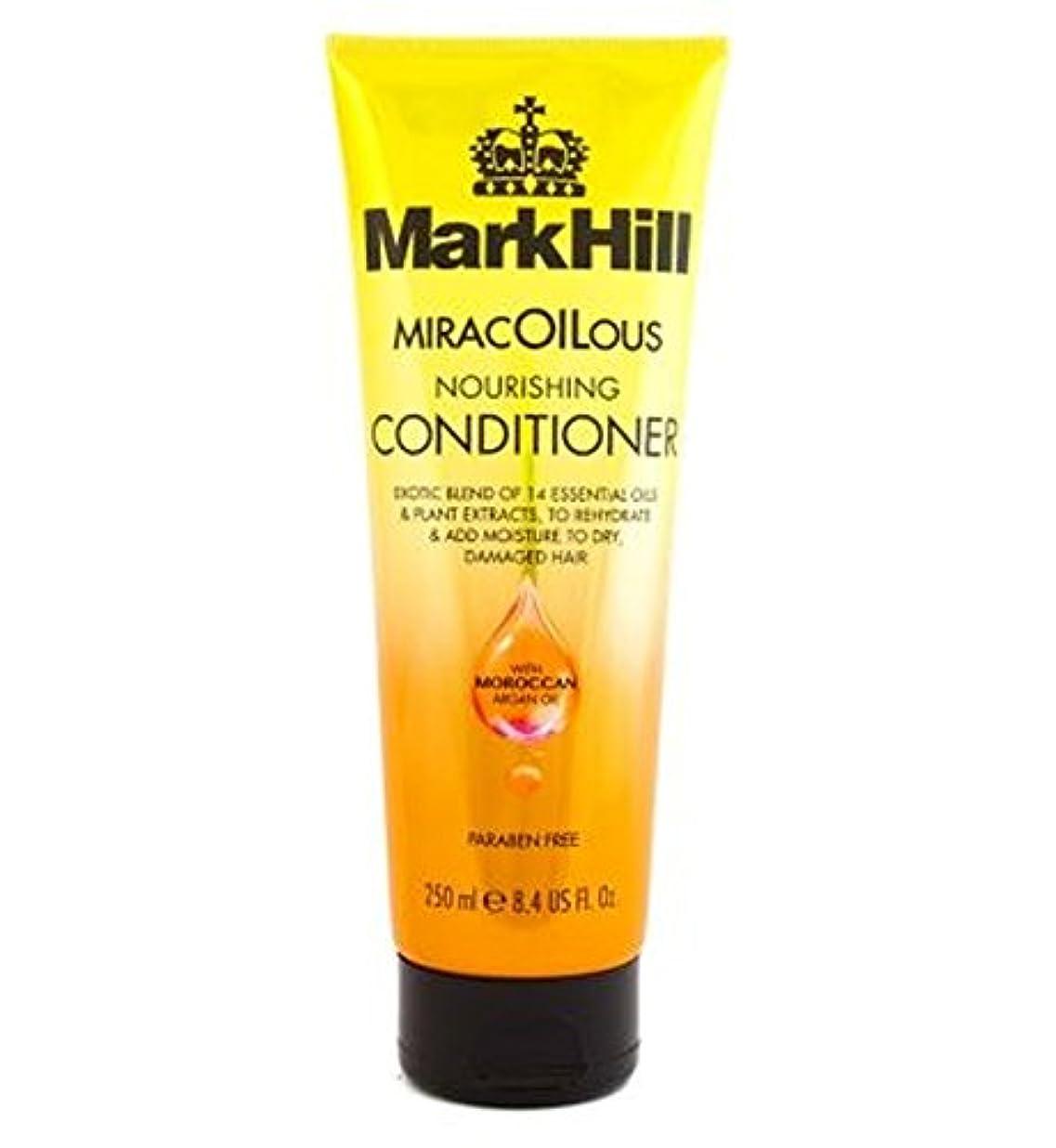 歯車気怠い毎回マーク丘Miracoiliciousコンディショナー250Ml (Mark Hill) (x2) - Mark Hill MiracOILicious Conditioner 250ml (Pack of 2) [並行輸入品]