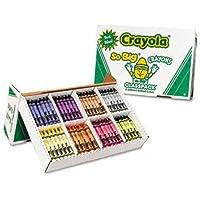 O Crayola o – So Big Classpackクレヨン、ワックス、50の各8色、400 Perボックス