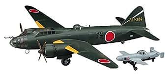 ハセガワ 1/72 日本海軍 三菱 G4M2 一式陸上攻撃機 24型丁 桜花 11型付 プラモデル E20