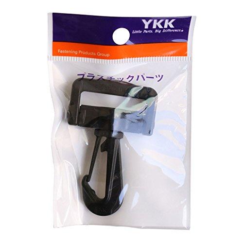 日本紐釦貿易 プラスチックパーツ プラパーツ ナスカン 黒 31mm巾 LN30-580