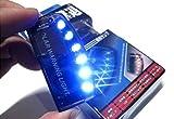 Reontiger 青 光 で 撃退 ブルー 6 LED スキャン セキュリティ ライト ソーラー 充電 衝撃 感知 A059