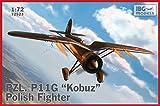 IBG 1/72 ポーランド空軍 PZL P.11G ガル翼戦闘機コブス (隼)プラモデル PB72523