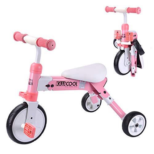 Cyfie 三輪車 折り畳み式 自転車 子供 収納 持ち運び...