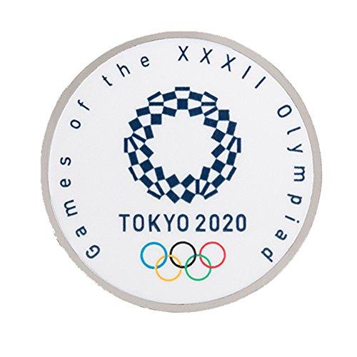東京 2020 オリンピック 組市松紋 エンブレム ピンバッジ ラウンド 円形タイプ