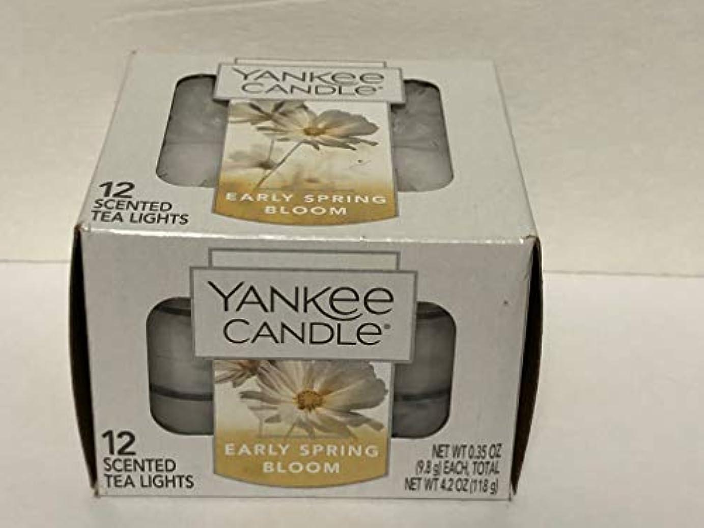 投げ捨てるはぁレンダーYankee Candle Early Spring Bloom