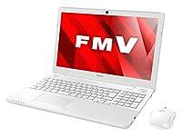 富士通 ノートパソコン FMV LIFEBOOK AHシリーズ WA2/B2(Windows10 Home/15.6型ワイド液晶/Core i7/8GBメモリ/約1TB HDD/Blu-ray Discドライブ/Officeなし/プレミアムホワイト)AZ_WA2B2_Z389/富士通直販WEBMART専用モデル