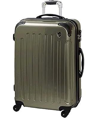 S型 シャンパンシルバー / KY-FK37 TSAロック搭載 キャリーケース スーツケース 鏡面加工 (1~3日用)