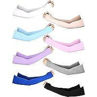 Unisex Sun Protection Arm Sleeves Modal Cotton Sunblock Glove Cooling Arm Sleeve
