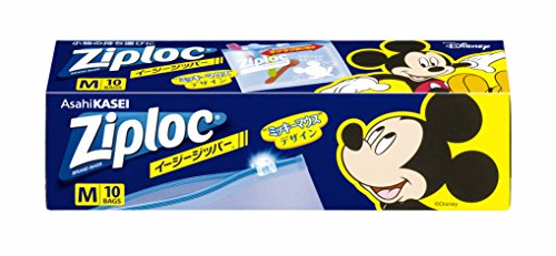ジップロック イージージッパー M ミッキーマウス 2018(10枚入)