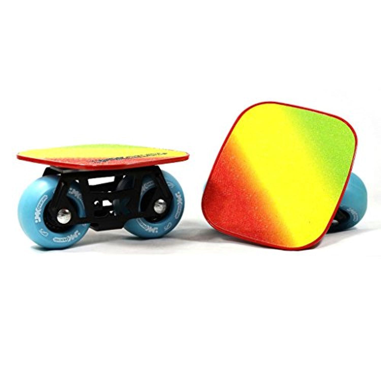 ドリフトフリーラインスケートDIYアダルト子供4輪スケートボードスクーターロードスクラブ