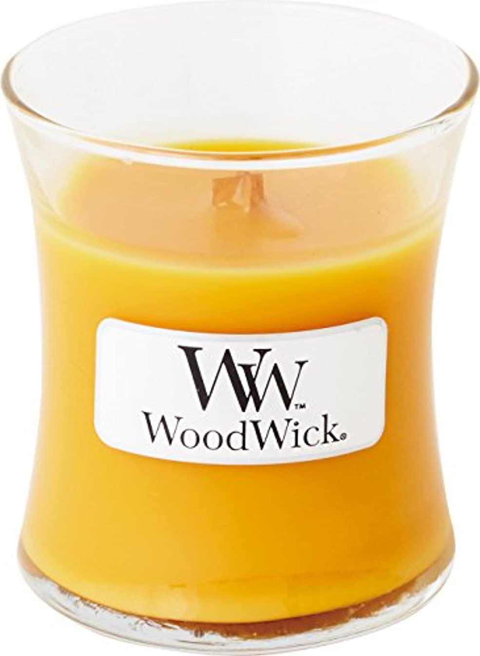 略す嫌い店員Wood Wick ウッドウィック ジャーキャンドルSサイズ スパークリングオレンジ