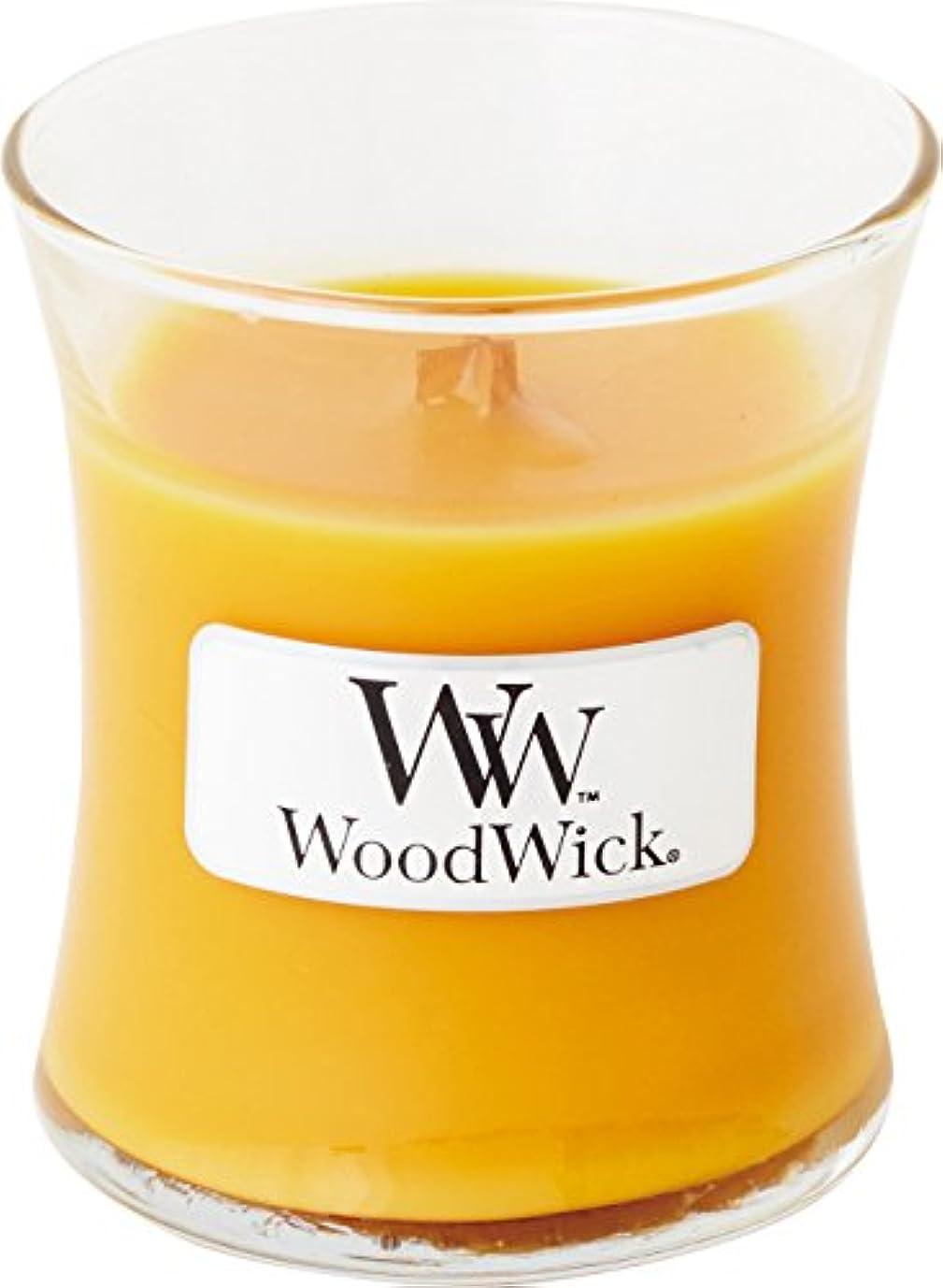 眉をひそめるしおれた堤防Wood Wick ウッドウィック ジャーキャンドルSサイズ スパークリングオレンジ
