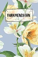 Turkmenistan: Liniertes Reisetagebuch Notizbuch oder Reise Notizheft liniert - Reisen Journal fuer Maenner und Frauen mit Linien