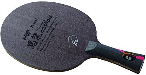 ニッタク(Nittaku) 卓球 ラケット 馬龍カーボン シェークハンド 攻撃用 特殊素材入り フレア