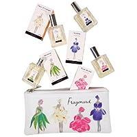 Fragonard Femmes Fleurs Pouch (フラゴナール トラベルサイズ4本セット ポーチ付) 15ml x 4個 for Women