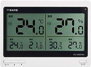 SATO デジタル温湿度計 PC-5400TRH 1074-00