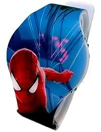 Spiderman Kid 'sデジタルLED Watch with Lightup時間spm3252