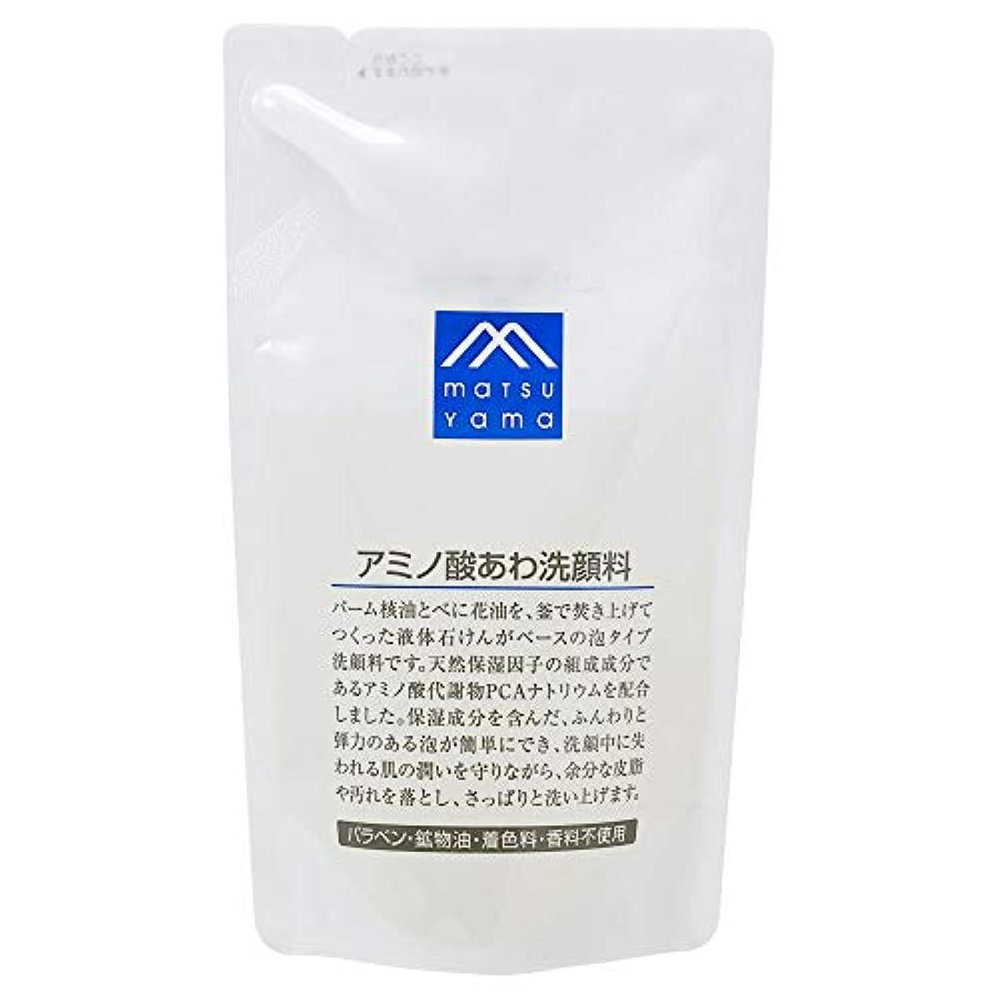 静めるアライメントあらゆる種類のMマーク(M-mark) アミノ酸あわ洗顔料 詰替用 120mL