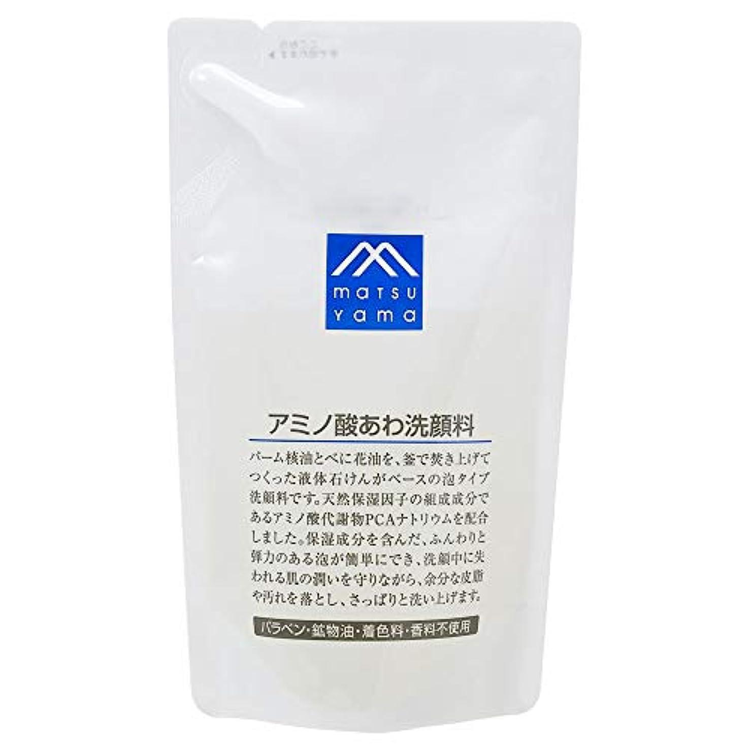 花下品貯水池Mマーク(M-mark) アミノ酸あわ洗顔料 詰替用 120mL