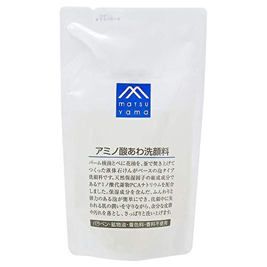 弾力性のあるアクション否認するMマーク(M-mark) アミノ酸あわ洗顔料 詰替用 120mL